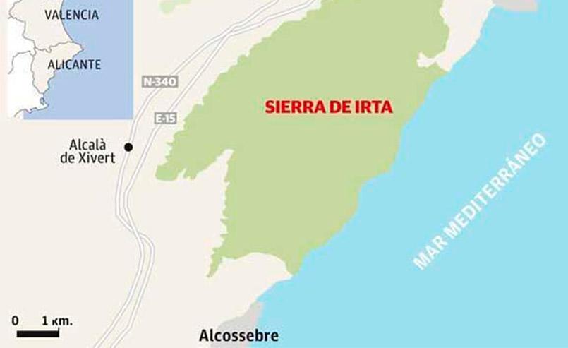 Conocer el Parque Natural de la Sierra de Irta