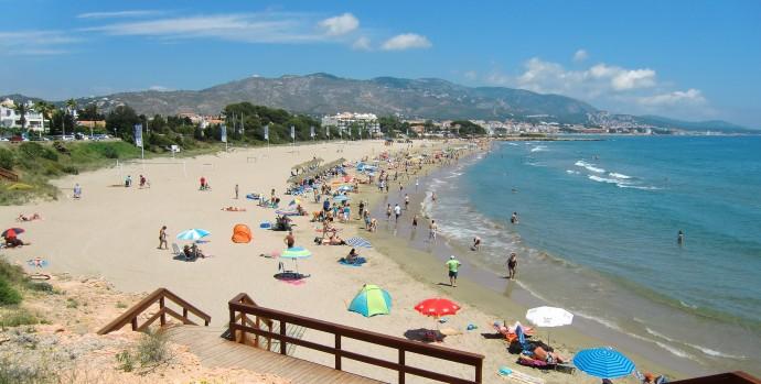 El mediterráneo y sus playas