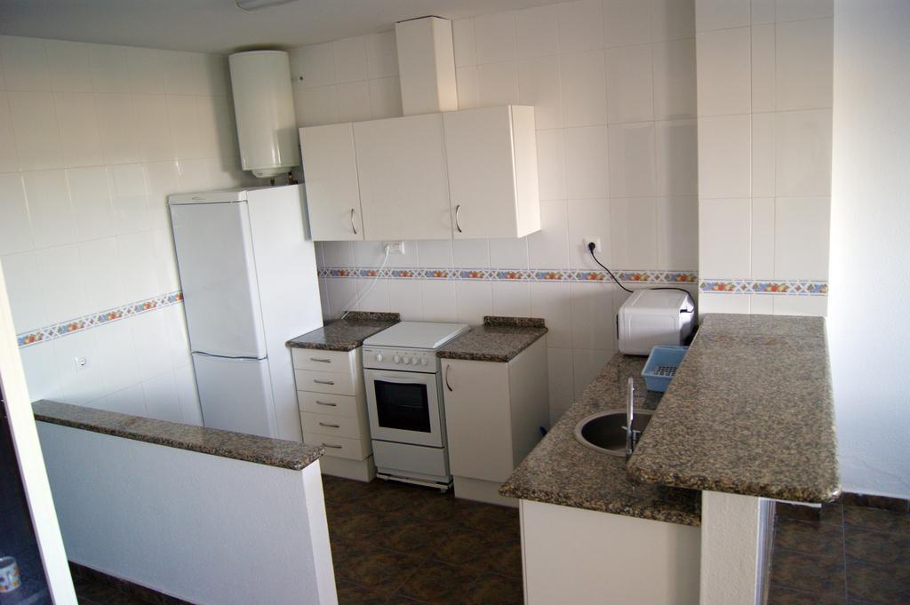 Apartamentos Cap y Corp, cocina
